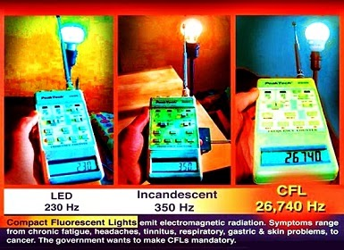 lampadas incandescentes