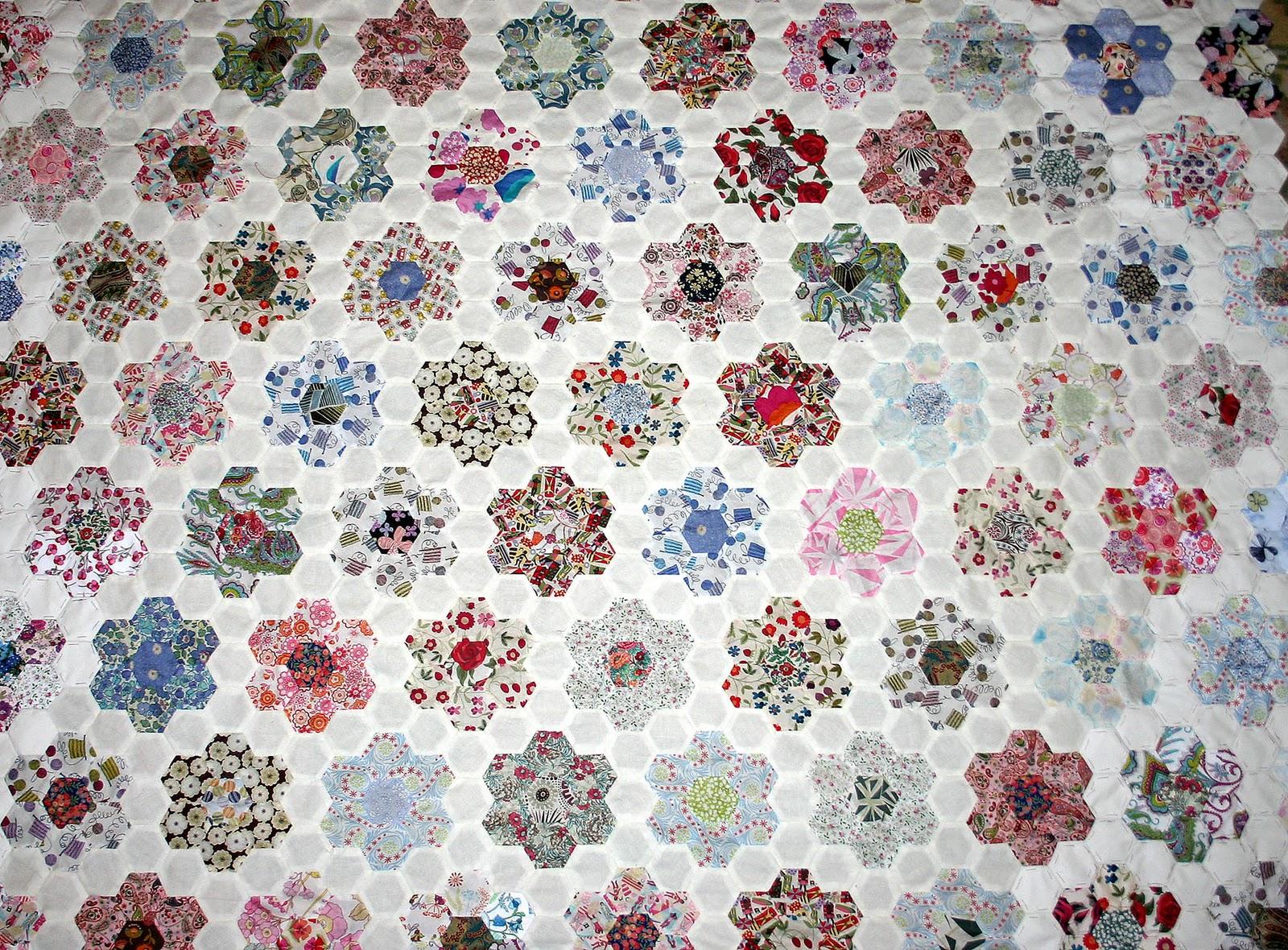 Les petites mains terrauboises septembre 2011 - Le petit jardin quilt pattern calais ...