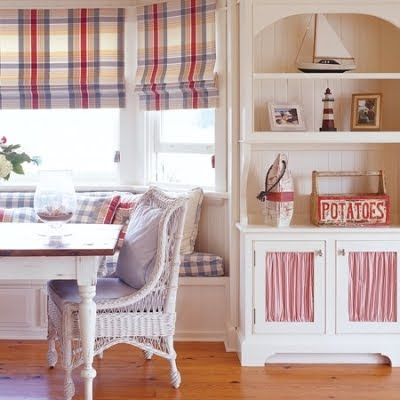 patriotic country coastal decorating