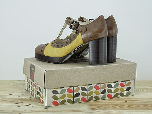 Orla Kiely Dotty, by Clarks