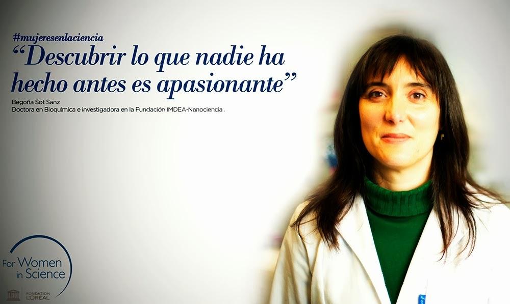 programa loreal unesco mujeres cientificas blogs begoña sot