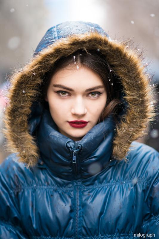 mitograph Antonina Vasylchenko After Dolce And Gabbana 2013 2014 Fall Winter Milan Fashion Week Street Style Shimpei Mito