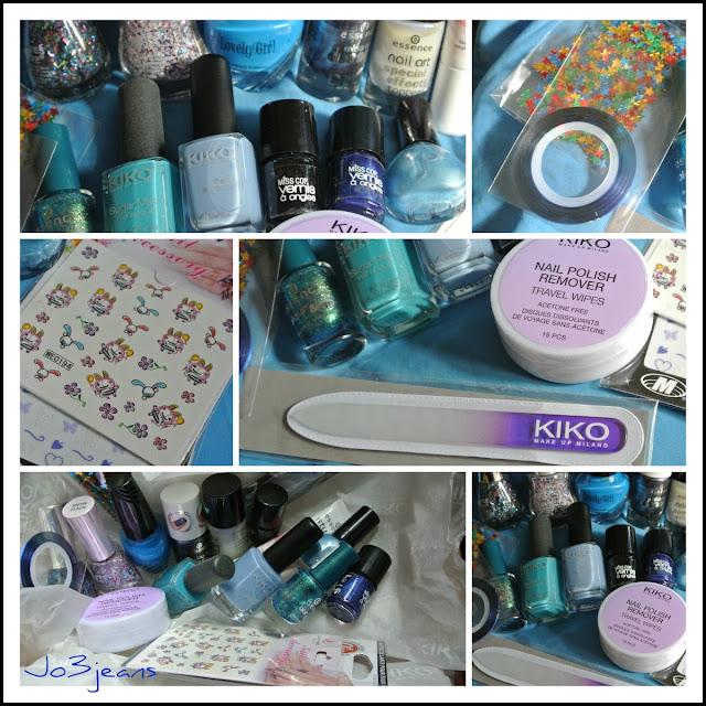 concours, participatif, lot nail art, nail art, jeans, tirage, giveaway, bleu, vernis,