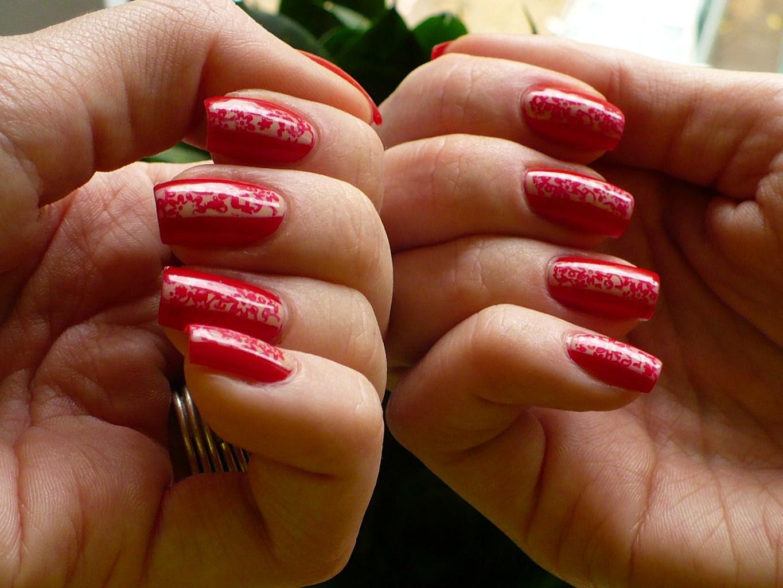 Nadzwyczajnie Zwyczajny Kolor Na Paznokciach Paznokcie Czerwony