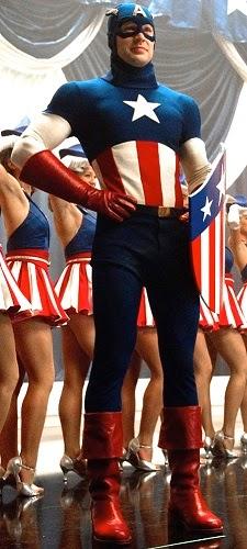 Kostum Captain America USO
