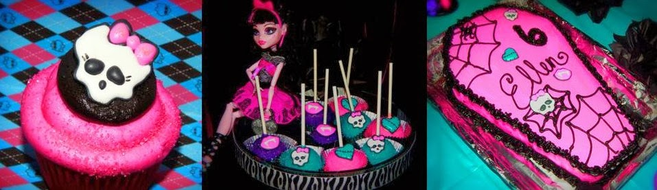 Saving with Sarah Monster High Birthday Party with DIY Ideas