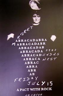 Poster: Abracadabra @ Margret