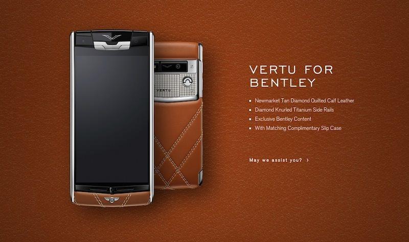 価格は170万円!?ベントレーとVertuがコラボした超高級スマートフォンが登場