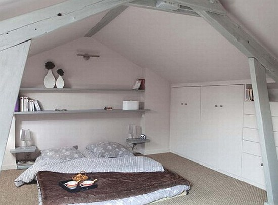 Converting attic into bedroom