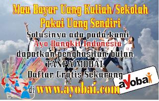 Mau Punya Penghasilan sendiri/Bulan Tanpa Modal SOLUSINYA ada pada Kami AYO BANGKIT INDONESIA. Dapatkan Penghasilan/Bulan Tanpa Modal. Daftar GRATIS sekarang