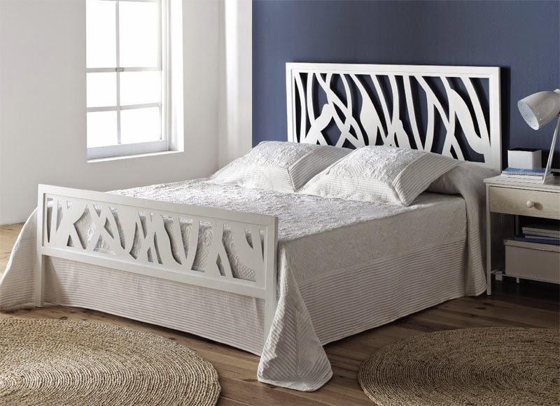 Muebles de forja camas y divan de forja gama blanca for Cama divan 90