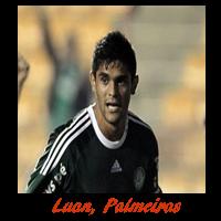 Luan do Palmeiras é o artilheiro do Brasileirão