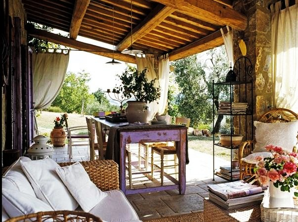 Decor me una casa de campo en la toscana for Interior country home designs