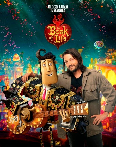 Diego Luna as Manolo in The Book of Life