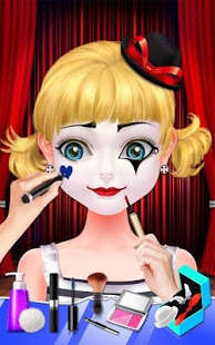 Screenshots of the Mime Show Girl for Android tablet, phone.