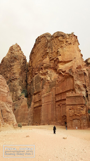 Architecture in Petra Jordan