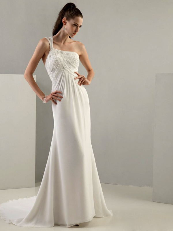WhiteAzalea Sheath Dresses Choosing Sheath Wedding Dress To Be A Beautiful B