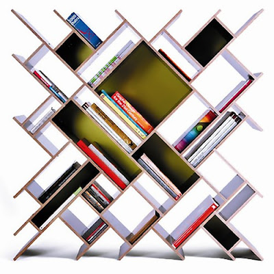Creative Bookshelves and Awesome Bookcases (15) 15