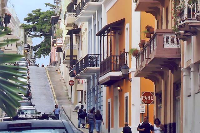 Rue du vieux San Juan