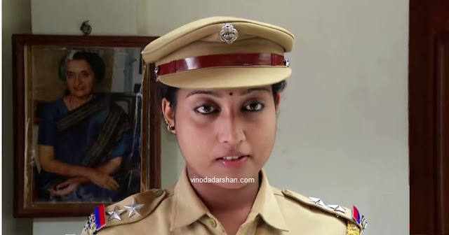 Actress Ashwini as Anu in Tamil Serial Sakthi