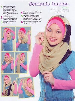 Cara Memakai Shawl For Hijab Cantik