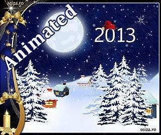 Tarjetas animadas para el Año Nuevo