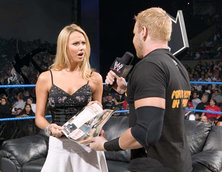 in Wwe stacy ring keibler