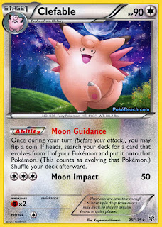 Clefable Plasma Storm Pokemon Card