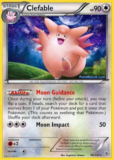 Clefable Plasma Storm Pokemon Card