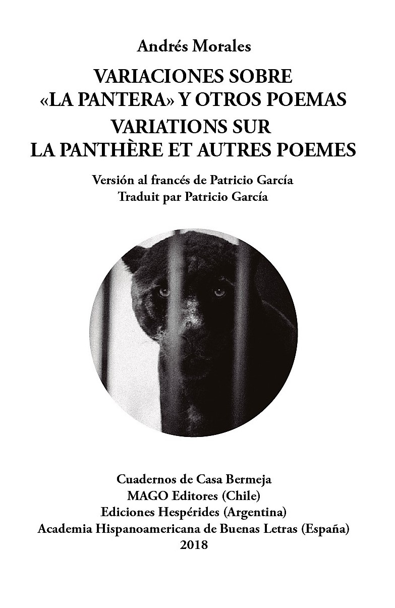 """VARIACIONES SOBRE """"LA PANTERA"""" Y OTROS POEMAS"""