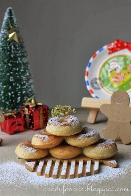 how to make a donut hole tree