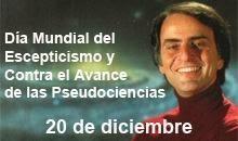 Día del Escepticismo y aniversario de la muerte de Carl Sagan
