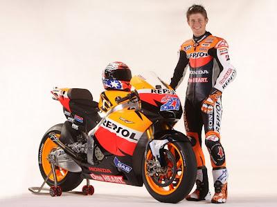 2011 Repsol Honda RC212V MotoGP Casey Stoner