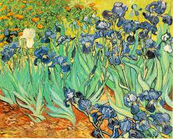"""""""Irises""""by Vincent Van Gogh (109.4 million)"""