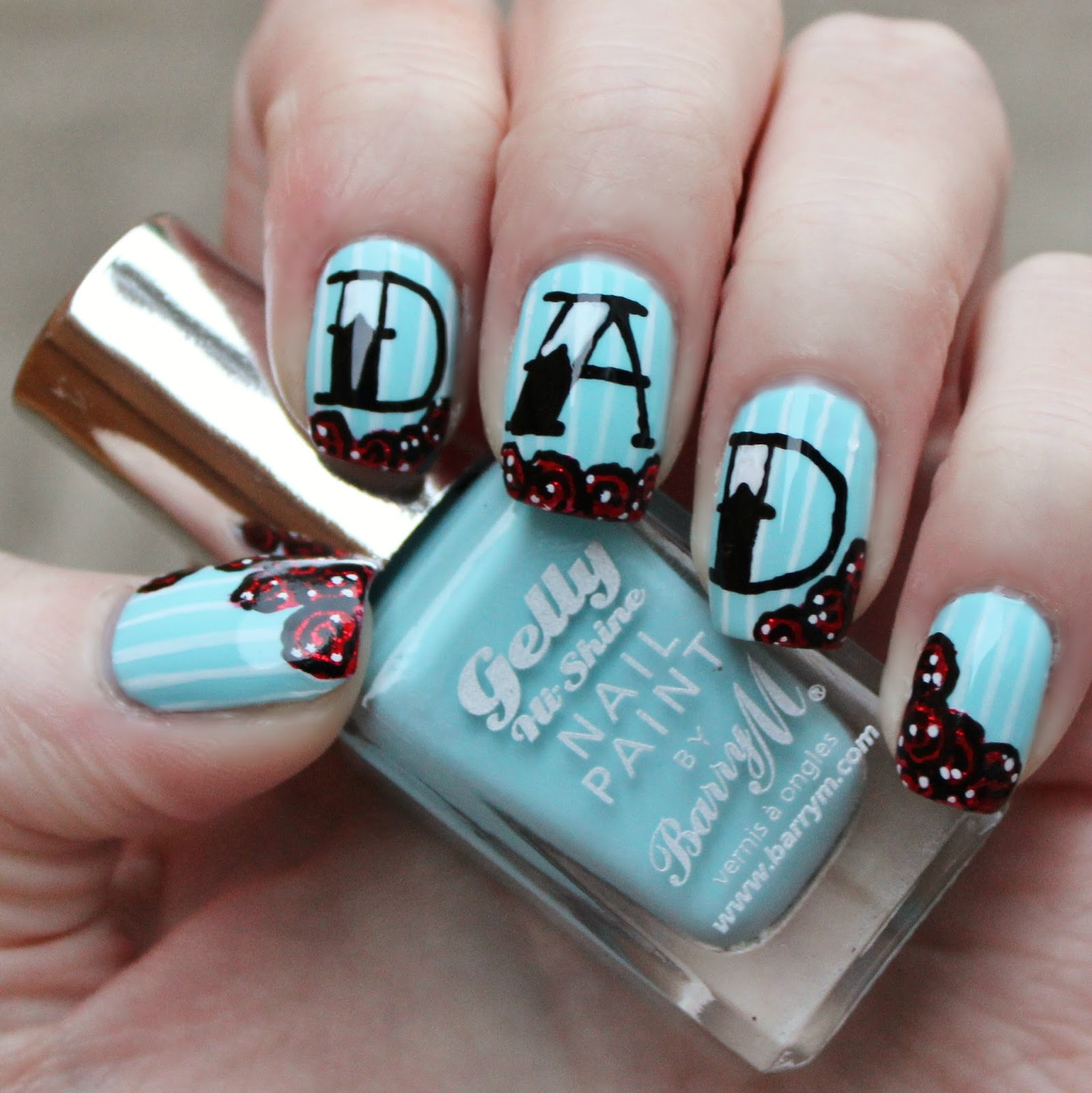 Dahlia Nails: Happy Father\'s Day