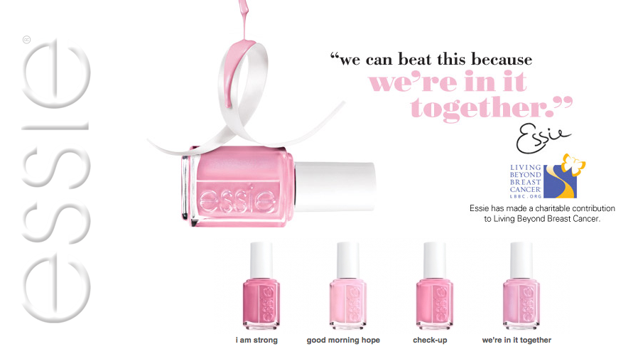 edición especial de apoyo al cáncer de mama