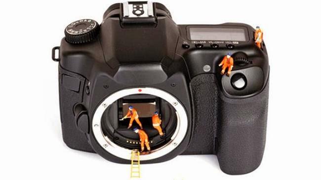 Membersihkan sensor kamera DSLR