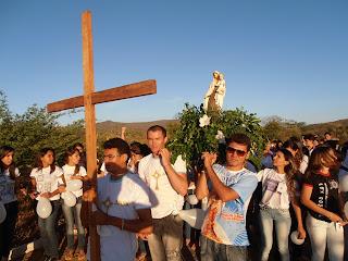 Imágens da Jornada Paroquial da Juventude da Paróquia de Almino Afonso - RN