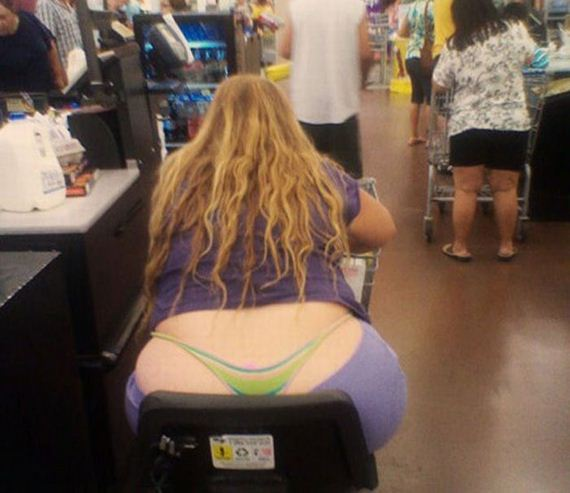 from Justus thick ass in walmart