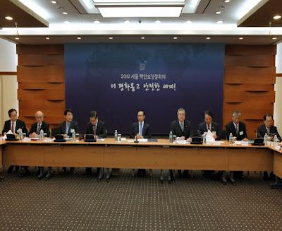 الرئيس يحضر مجلس شؤون الإعداد الثالث لمؤتمر الأمن النووي 5