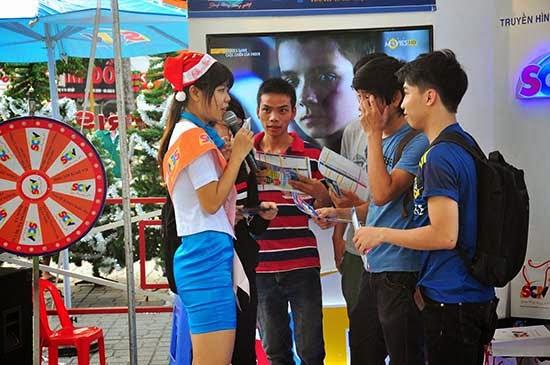 SCTV mang không khí Noel tại Saigon Mall