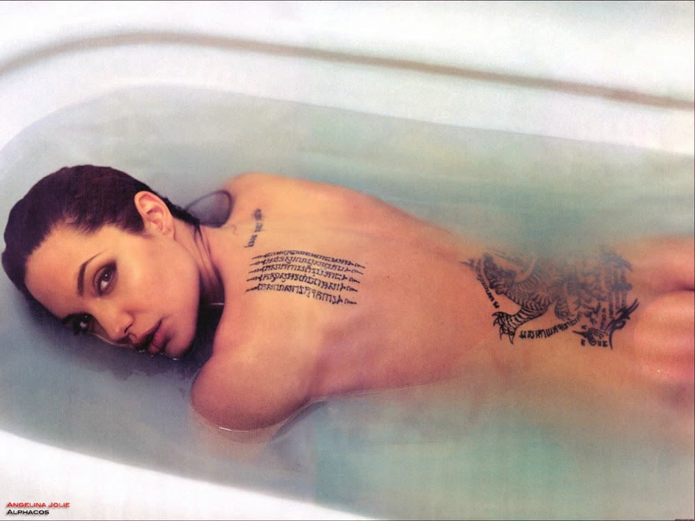 angelina jolie tattoos meanings