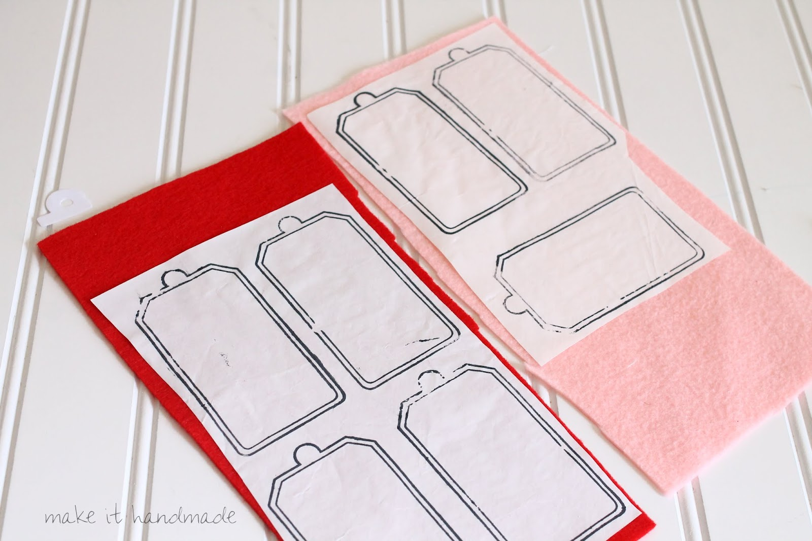 Learn to make reusable gift tags from felt scraps using your papercrafting tools!