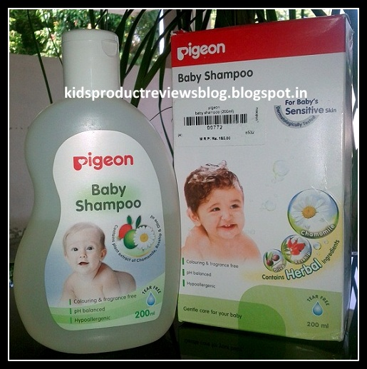 Pigeon Baby Shampoo Review