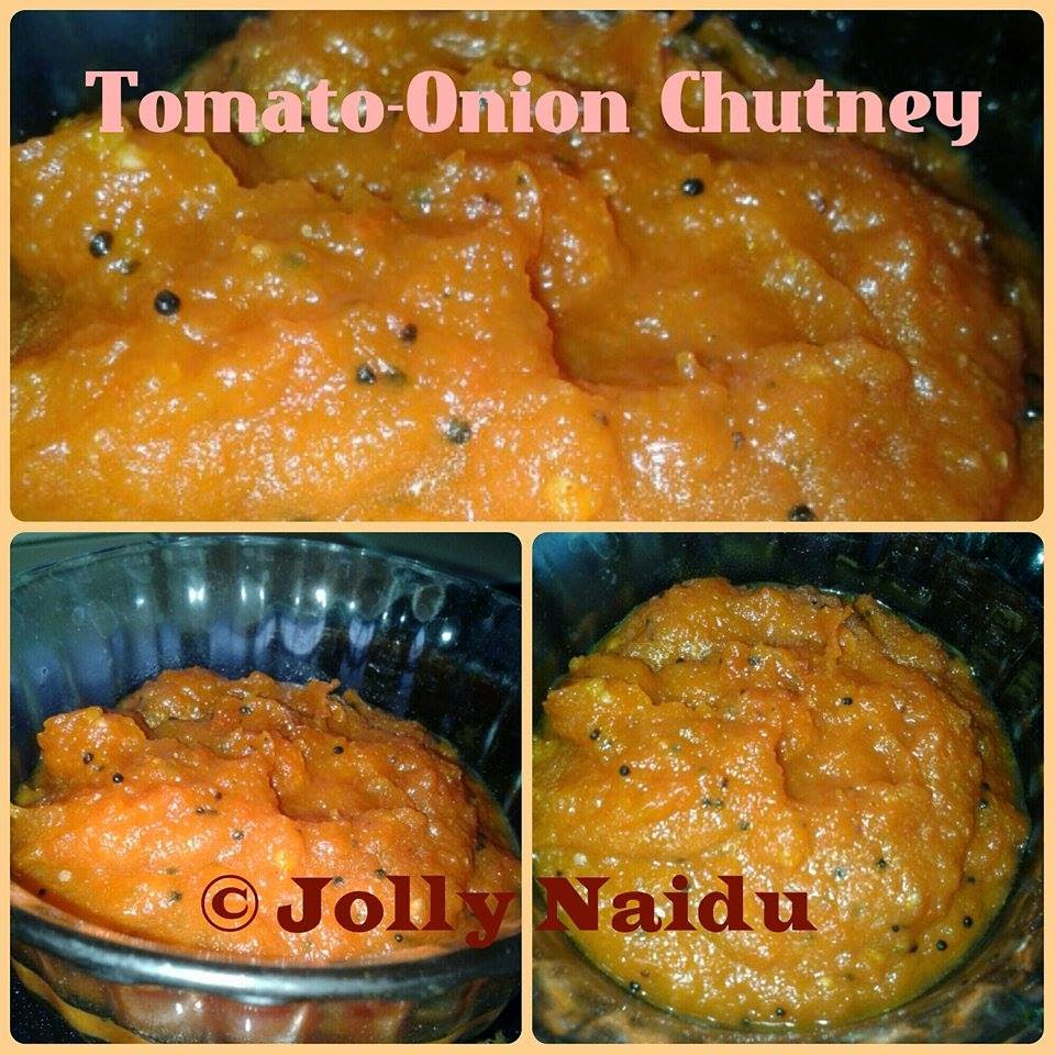 Sweet n Spicy Tomato-Onion Chutney | Homemade Recipes