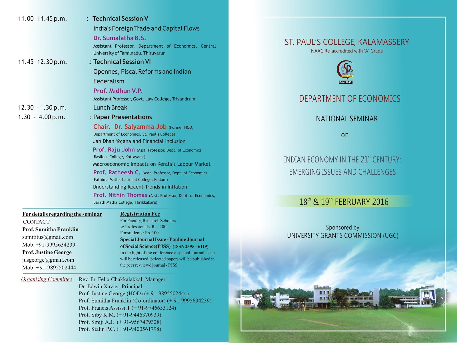 The Social Science Informer Seminar invitation