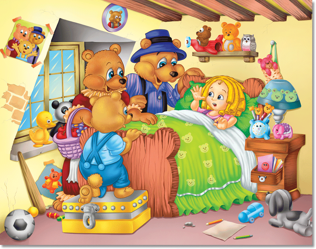 Goldilocks And The Three Bears Story Chairs