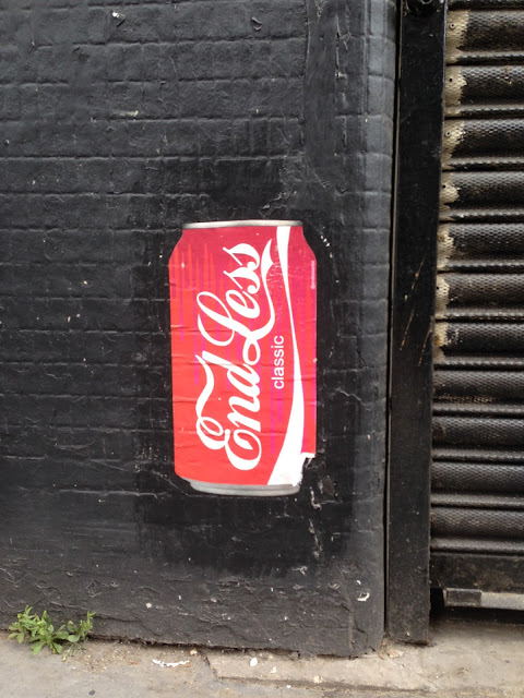 Coke Shoredich Street art