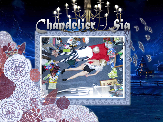 Chandelier Sia Fan Art