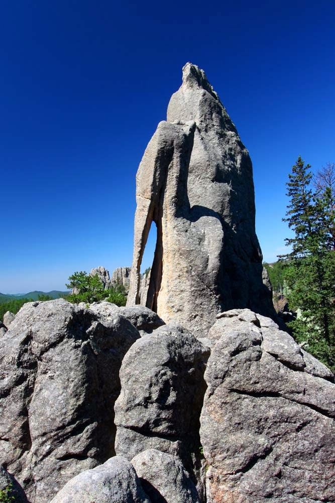 The Needle's Eye in Custer State Park, USA